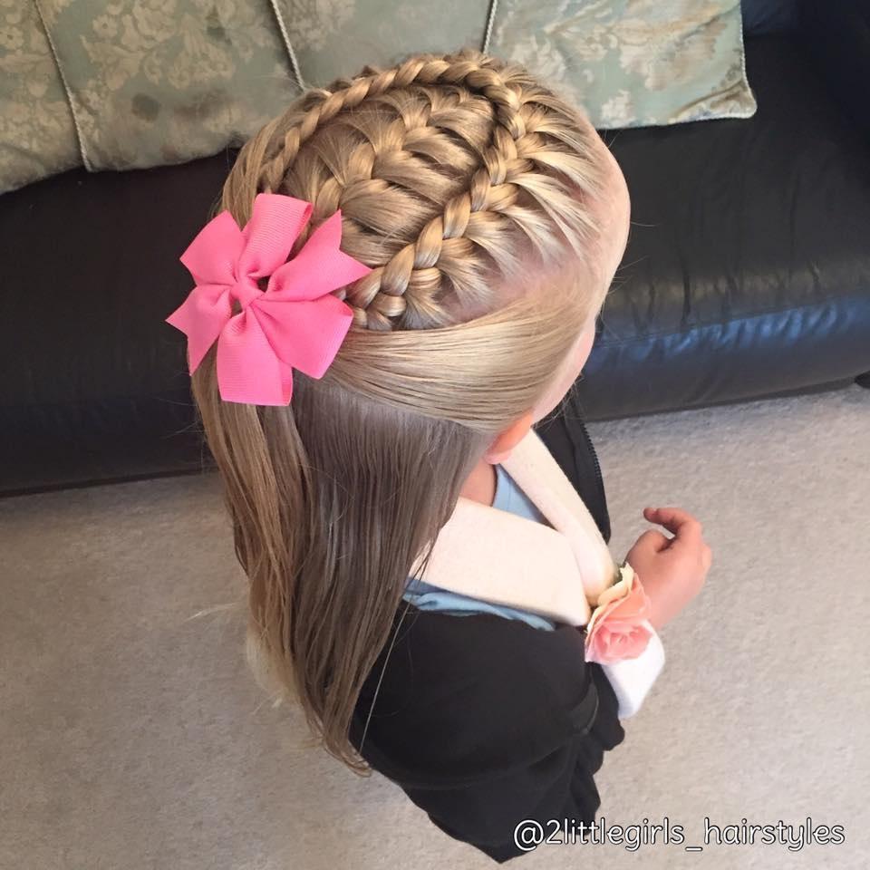 Magnifiques Tresses Pour Petites Filles Coiffure Simple