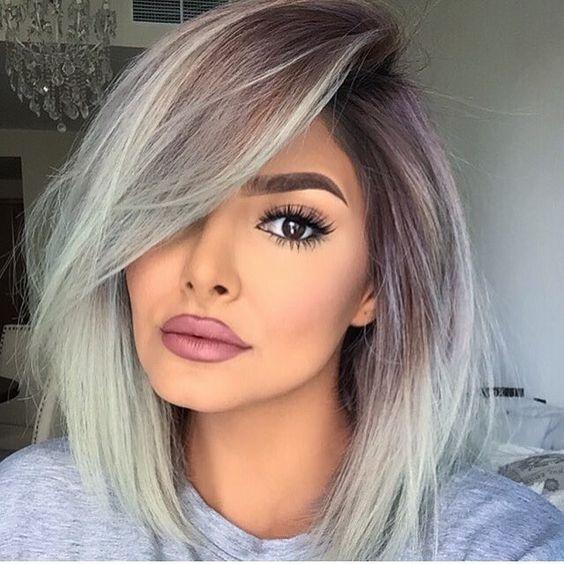 Couleur de cheveux jolie pour automne hiver
