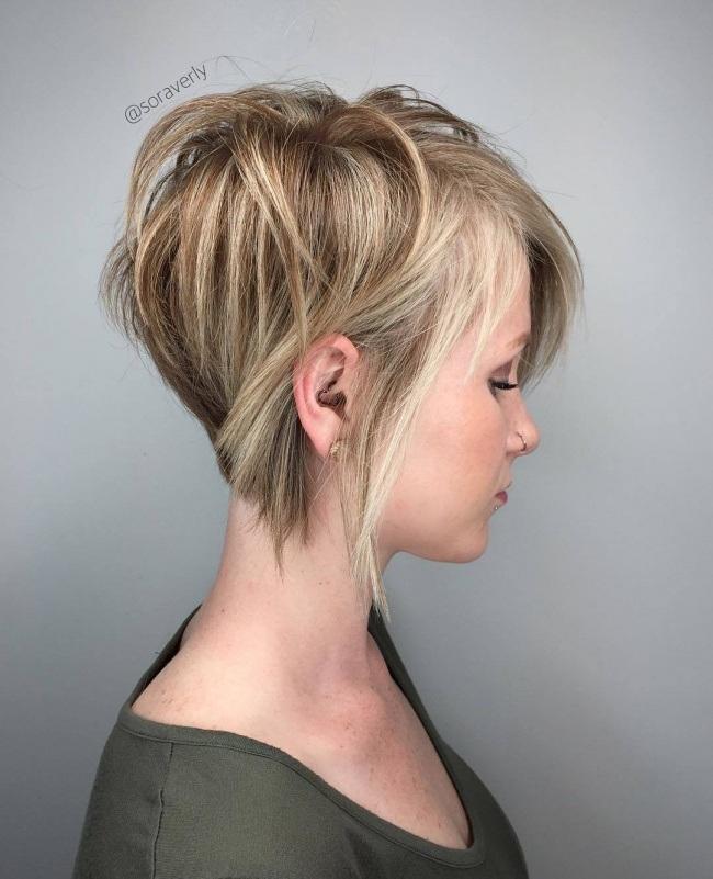 Magnifiques coupes courtes pour femmes collection tendance 2017 coiffure simple et facile - Coupes courtes degradees femmes ...