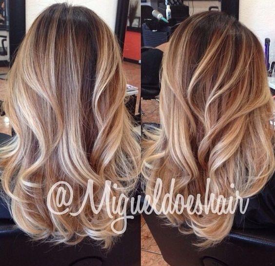 les meilleurs Ombré Hair  16