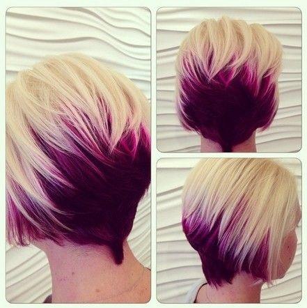 Ombr 233 Hair Sur Cheveux Courts Les Id 233 Es Les Plus