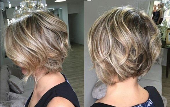 Ombré Hair sur les coupes Courtes  La Tendance que Vous Devez Adopter  cette Saison