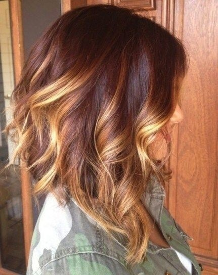 coupe cheveux long tie and dye