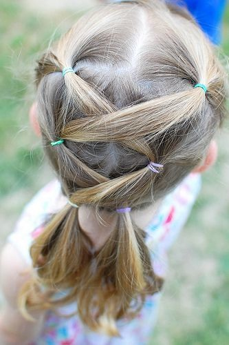 styles for little girl hair 20 magnifiques coiffures faciles et mignonnes pour 9116 | Magnifiques Coiffures Faciles 5