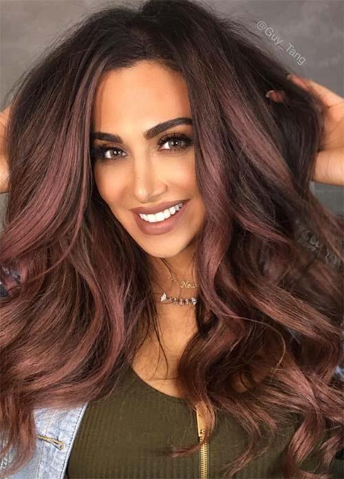 Favorit 50 Magnifiques Couleurs Cheveux Tendance 2017 | Coiffure simple et  HH96