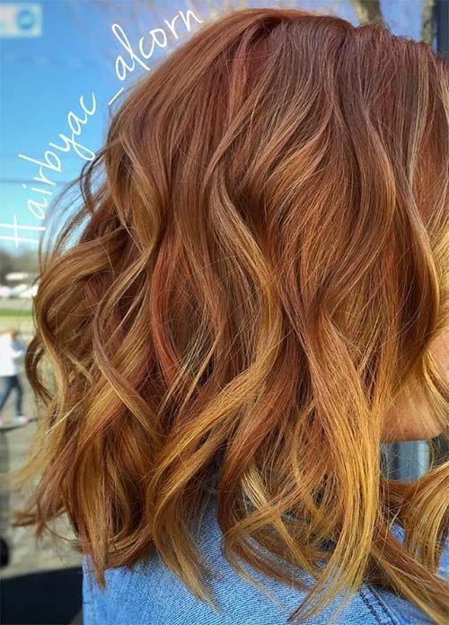50 Magnifiques Couleurs Cheveux Tendance 2017 Coiffure