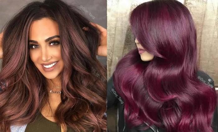 50 magnifiques couleurs cheveux tendance 2017 coiffure simple et facile - Couleur mode hiver 2017 ...