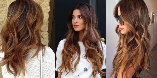 Ombr Hair Caramel La Tendance Porter Pour La Nouvelle Ann E Coiffure Simple Et Facile