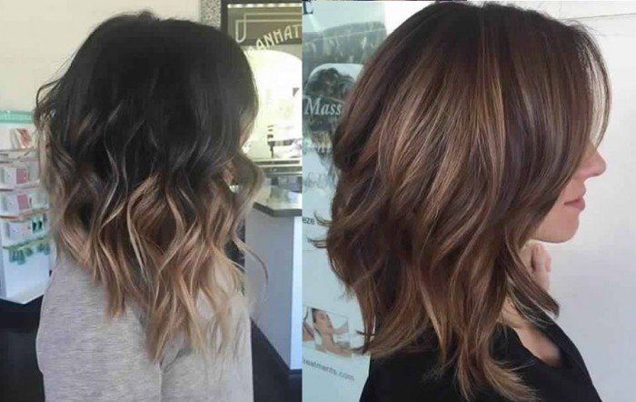 Ombr Hair Cheveux Mi Longs Les Meilleurs Mod Les Coiffure Simple Et Facile