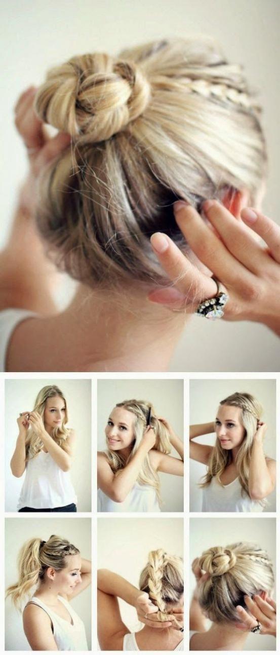 coiffures express pour tous les jours coiffure simple et. Black Bedroom Furniture Sets. Home Design Ideas