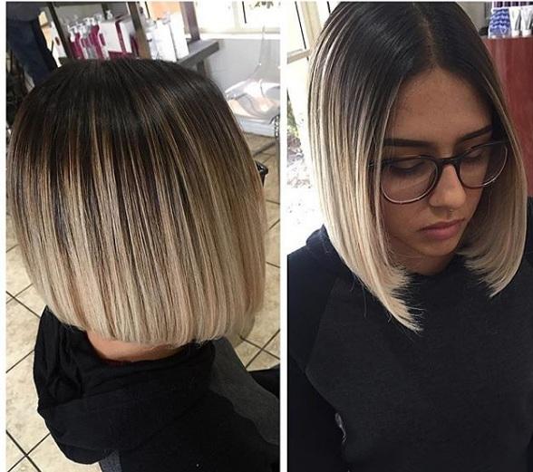 ombr hair pour cheveux mi longs choisissez votre mod le pour 2017 coiffure simple et facile. Black Bedroom Furniture Sets. Home Design Ideas