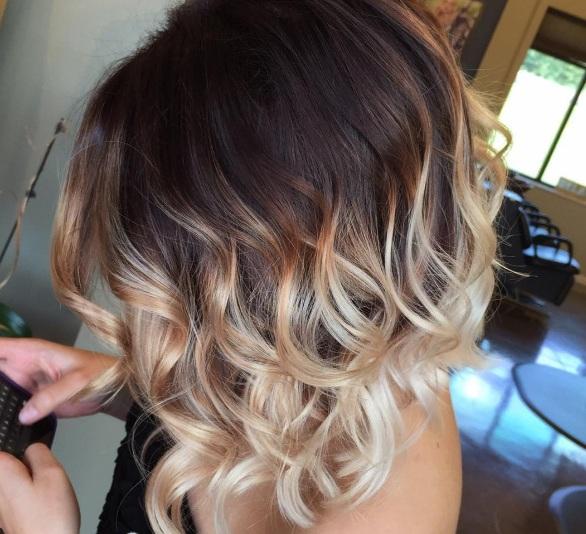 Ombr hair pour cheveux mi longs choisissez votre mod le pour 2017 coiffure simple et facile - Ombre et hair ...