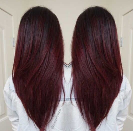 d couvrez les meilleures id es de couleurs cheveux pour f ter noel 2017 coiffure simple et facile. Black Bedroom Furniture Sets. Home Design Ideas