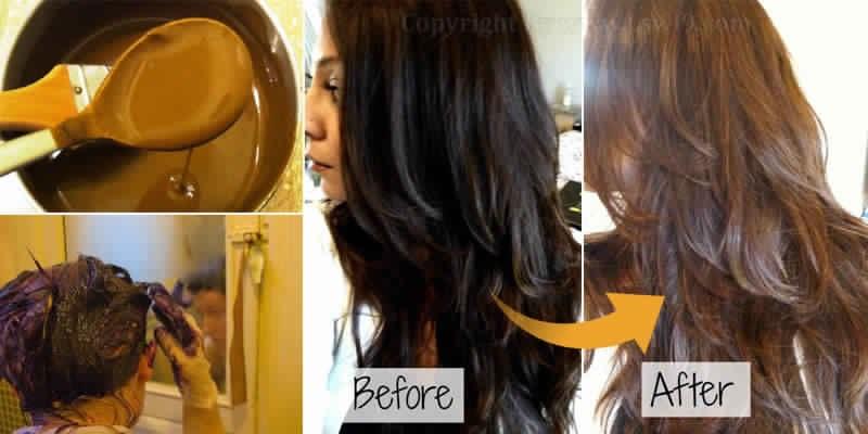 Pour colorer les cheveux naturellement