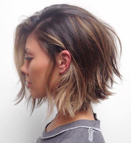 vos cheveux manquent de volume grâce à une coupe dégradée vous obtenez  un look branché selon les dernières tendances et vous ajoutez plus de  volume à