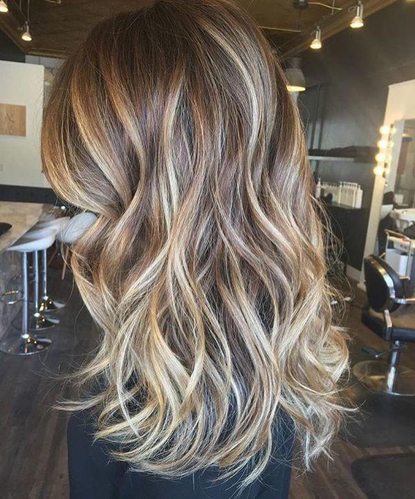 Mèches Et Ombré Hair Sur Cheveux Mi Longs Les Meilleurs Modèles
