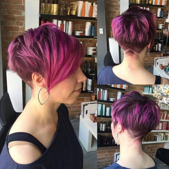 Tendance coupe courte 2017 pour femme coiffure simple et - Modele coupe courte femme 2017 ...