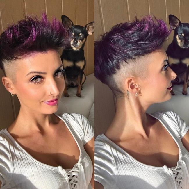 Tendance coupe courte 2017 pour femme coiffure simple et for Coupe de cheveux court hiver 2017