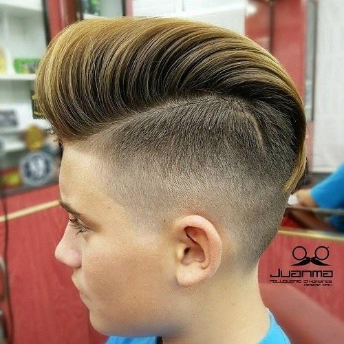 belle coiffure pour garcon