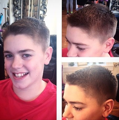 coupe de cheveux 12 ans