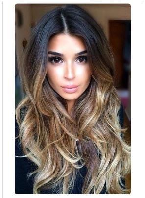 coiffure et meches tendance