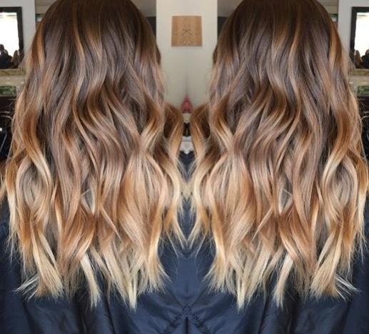 Magnifiques ombr hair tendance 2017 coiffure simple et facile - Couleur ombre hair ...