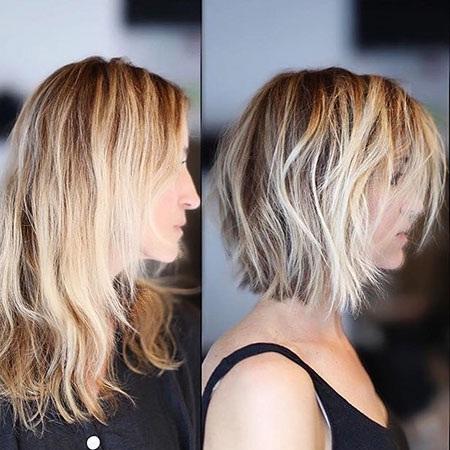 Les plus Beaux Modèles de Cheveux Courts et Mi longs
