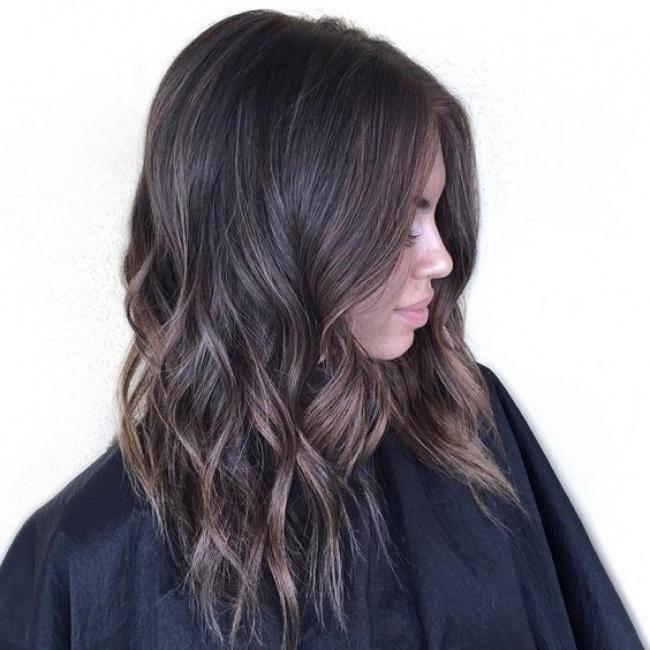 ... collection de coupes cheveux mi-long hyper stylées pour tendance 2017