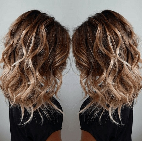 Les plus beaux balayage cheveux tendance 2017 coiffure for Balayage braun caramel