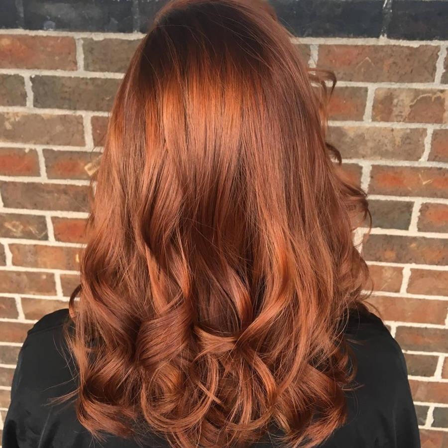 Le Nouveau Roux Tendance 2017 Pumpkin Spice Hair A