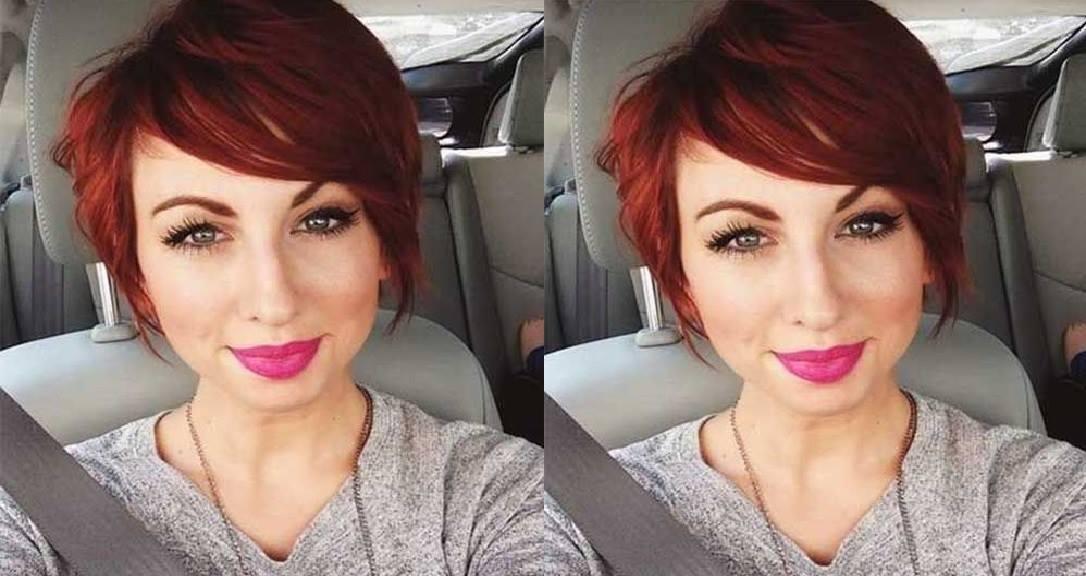 Voici la meilleure couleur pour vos cheveux courts coiffure simple et facile - Coupe courte couleur cuivre ...