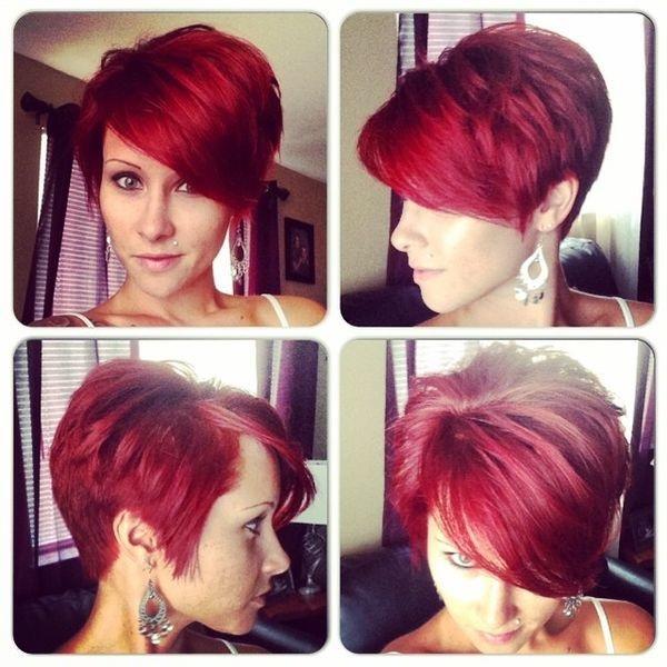 couleur tendance cheveux court