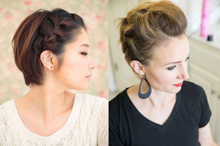 Fabuleux Nos Meilleures Idées de Coiffures Pour les Cheveux Courts  GM82