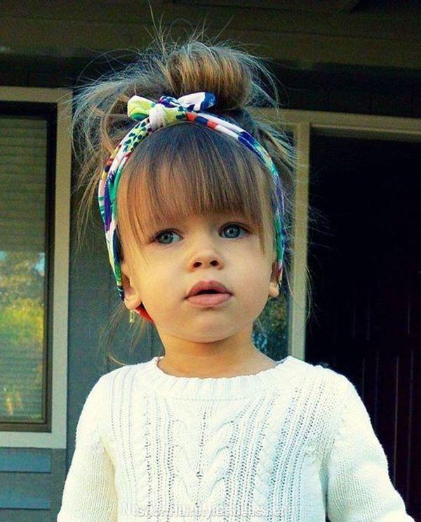 14 magnifiques coiffures pour petites filles coiffure. Black Bedroom Furniture Sets. Home Design Ideas