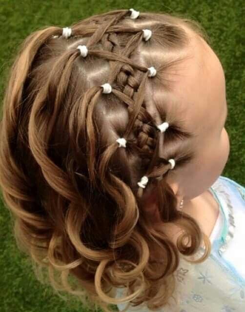 Parce que les petites filles aiment beaucoup les belles coiffures et parce  que les mamans se trouvent parfois sans aucune inspiration,nous vous  offrons 14
