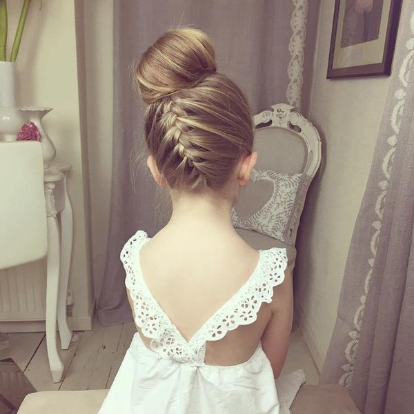 Pretty Hairstyles For A Wedding: 14 Magnifiques Coiffures Pour Petites Filles