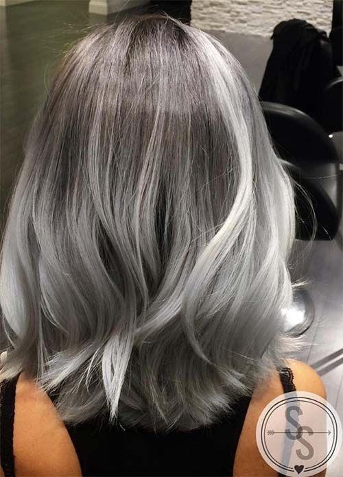 20 Magnifiques Mod 232 Les Cheveux Mi Longs M 233 Ch 233 S Tendance