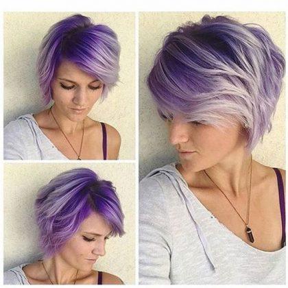 30 magnifiques couleurs pour coupes carr es courtes for Application pour voir si une coupe de cheveux nous va