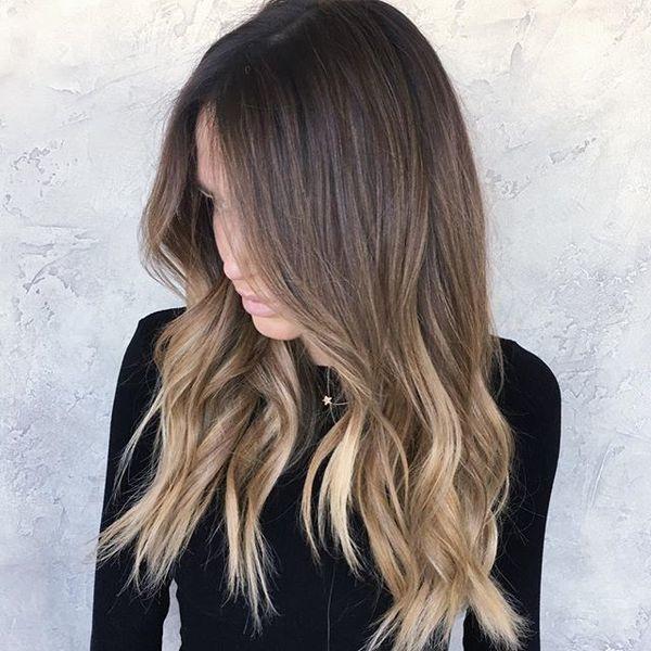 Ombre Hair Cheveux Mi Longs Les Plus Beaux Modeles Coiffure
