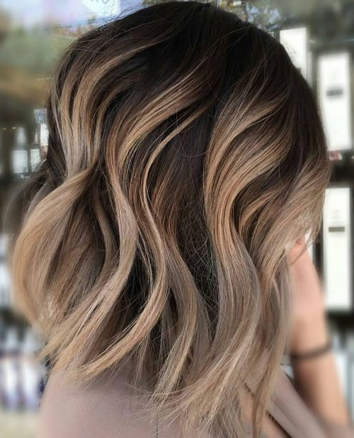 Magnifiques id es de coupes pour femmes brunes tendance 2017 coiffure simple et facile - Coupe femme long 2017 ...