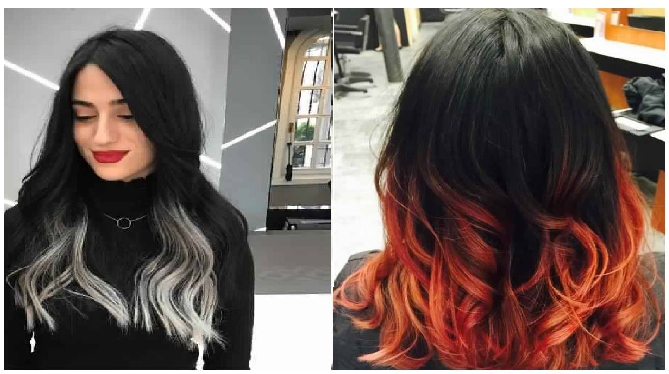 Coupe tie and dye - Ombre et hair ...
