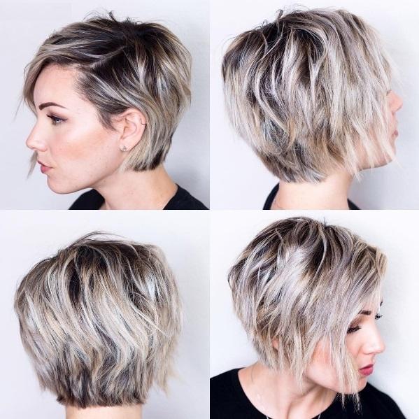 coupe cheveux court meche