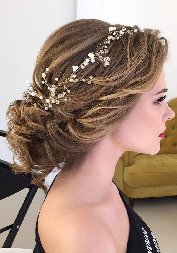 Magnifiques chignons mariage pour printemps 2017 coiffure simple et facile - Coiffure simple mariage invite ...