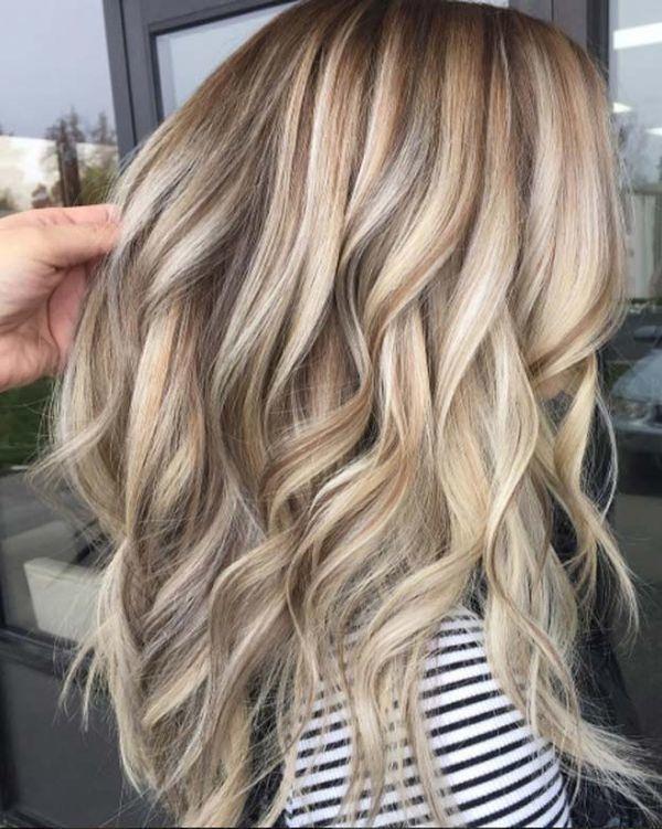 photos de couleurs de cheveux