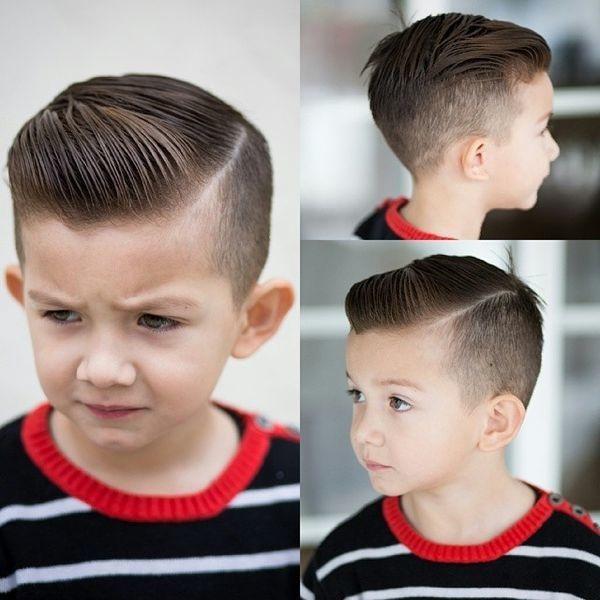 20 magnifiques mod les de coiffures pour votre gar on tendance 2017 coiffure simple et facile - Coupe garcon court ...