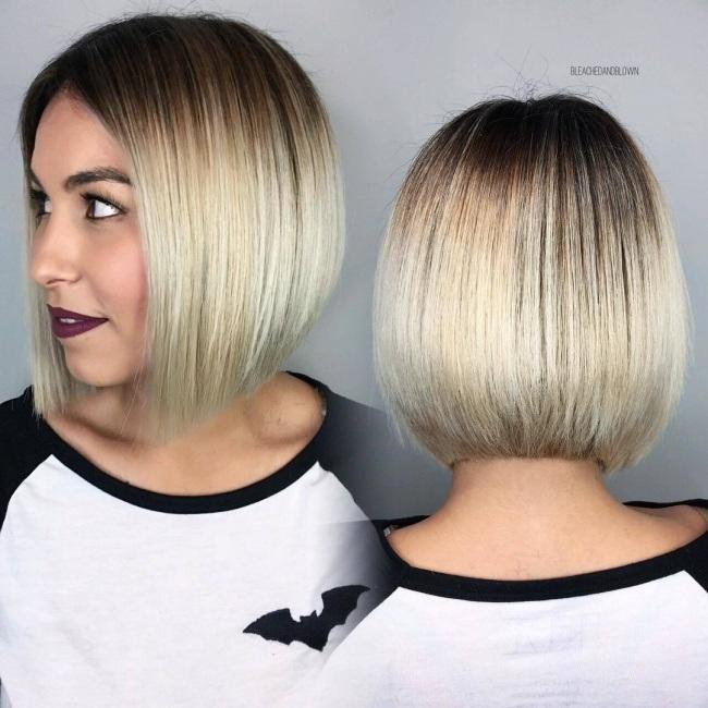 magnifiques id es de couleurs pour cheveux courts et mi longs tendance 2017 coiffure simple et. Black Bedroom Furniture Sets. Home Design Ideas