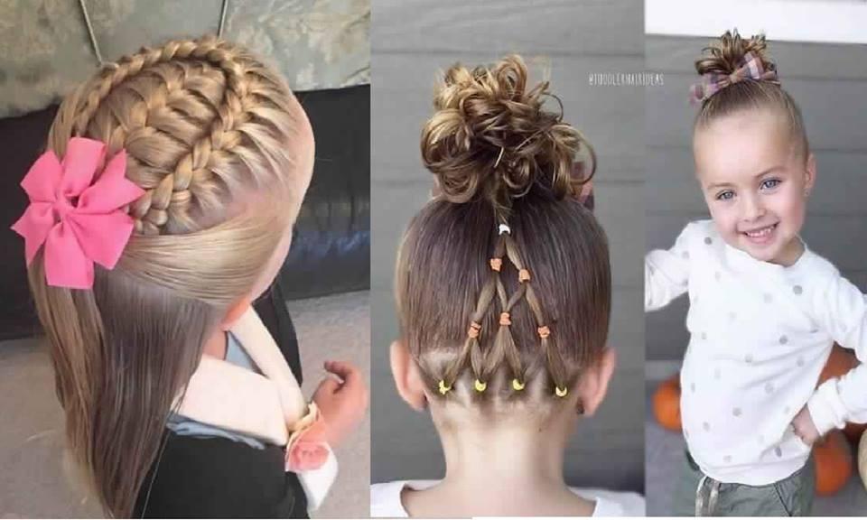 Magnifiques coiffures d 39 t pour petites filles coiffure simple et facile - Coiffure fille simple ...