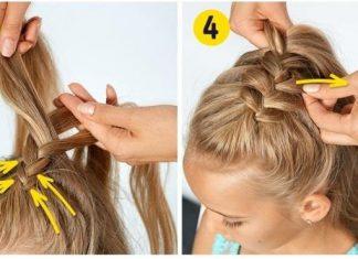 Coiffure simple rapide coiffure simple et facile part 11 - Coiffure fille simple ...