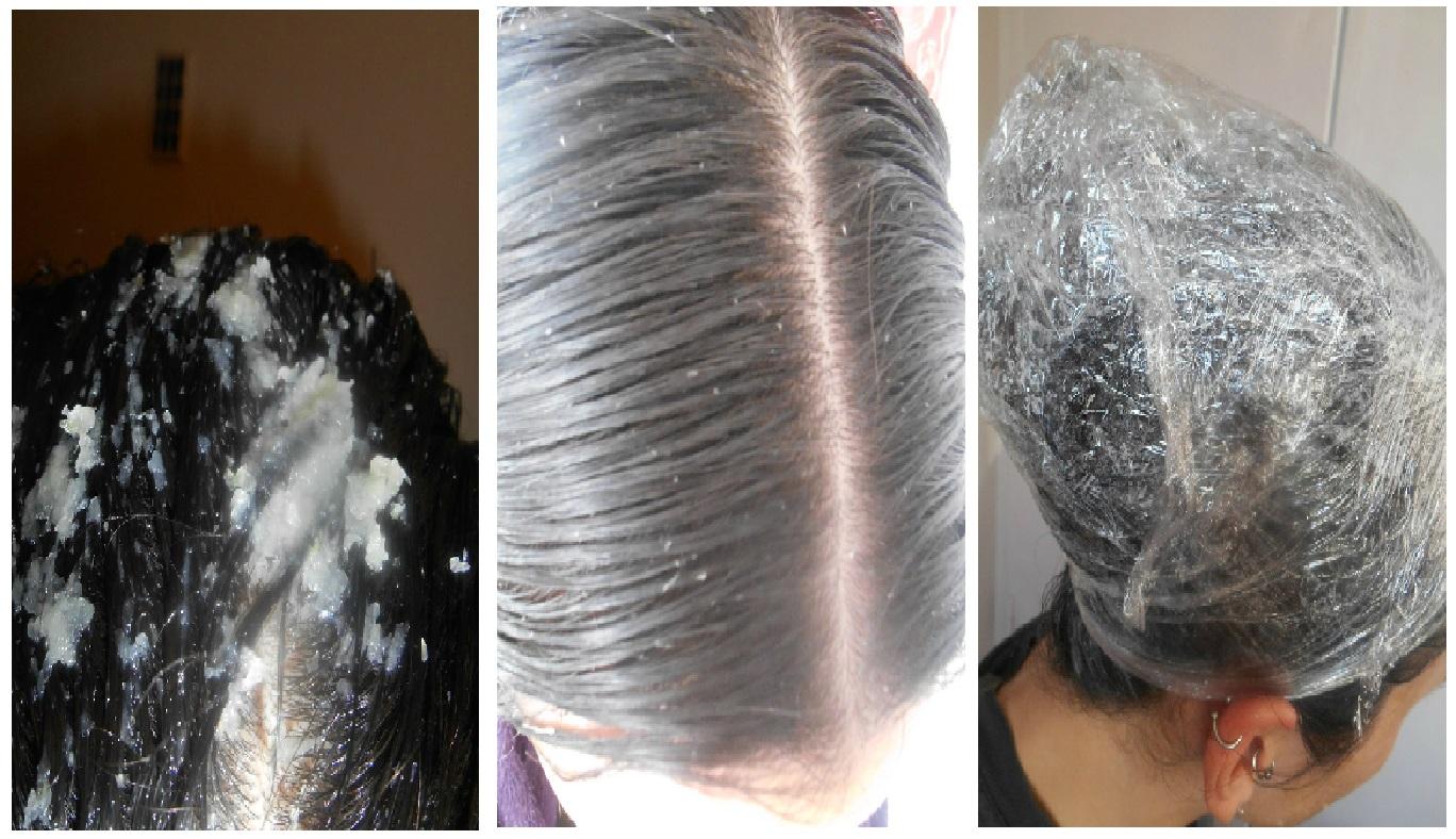 Laminirovanie le cheveu avec lhuile volatile