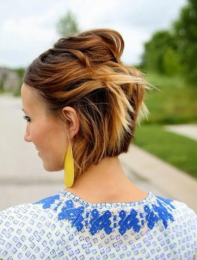 Coiffure Simple Cheveux Courts 10 Tutoriels Faciles A Faire Soi